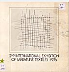 2nd International exhibition of miniature…