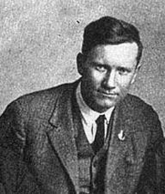 Author photo. James P. Cannon in Moscow in 1922