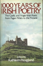 1,000 Years of Irish Poetry by Kathleen…