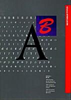 Berthold types. Vol. 1: A–B