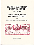North Carolina County Script 1861-1862, of…