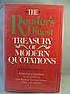 The Reader's digest treasury of modern…