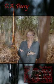 Author photo. Author, D.A. Berry