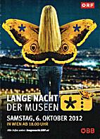 Lange Nacht der Museen. Samstag, 6. Oktober…