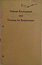 Defense employment and training for…