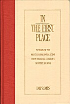 In the First Place: 20 years of the most…