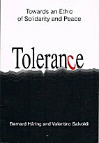 Tolerance: Towards an Ethic of Solidarity…