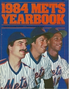 1984 New York Mets Official Yearbook by New…
