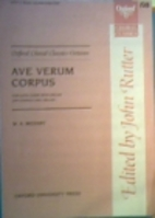 Ave Verum Corpus by Wolfgang Amadeus Mozart