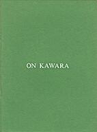 On Kawara: April 1-April 26, 1986 (Catalogue…