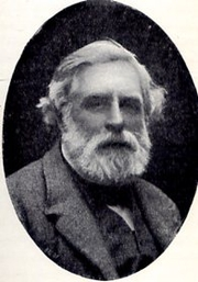 Author photo. From the book, The Book-Hunter in London, by W. Roberts, 1895 edition