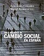 Tres Decadas De Cambio Social En Espana/…