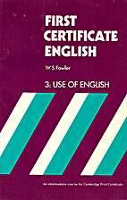 Use of English by W. S. Fowler