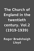 The Church of England in the twentieth…
