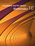 Foundations and Pre-Calculus 10 by Davis
