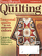 Love of Quilting Volume 14, Number 4, Issue…