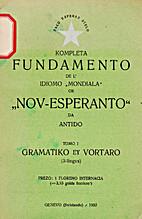 Kompleta Fundamento de l' Idioma ,,Mondiala…