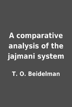 A comparative analysis of the jajmani system…