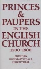 Princes & paupers in the English Church,…
