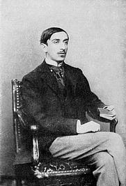 Author photo. Image from <b><i>Das Hermann Bahr Buch</i></b> (Berlin: S. Fischer, 1913)