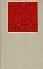 Kindlers neues Literatur-Lexikon (Band 19…
