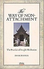 The Way of Non-Attachment: The Practice of…