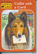 Collie with a Card by Ben M. Baglio