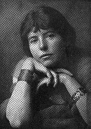 Author photo. Image from <b><i>Selected poems from the Indian love lyrics of Laurence Hope</i></b> (1922)