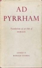 Ad Pyrrham by Horace