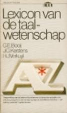 Lexicon van de taalwetenschap by G.E. Booij