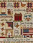 Live Simply Quilt by Buttons & Bees