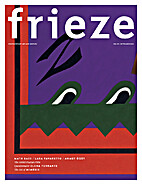 Frieze Magazine No. 173, September 2015 by…