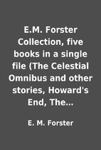 E.M. Forster Collection, five books in a…