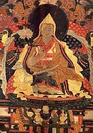 Author photo. Kelzang Gyatso, the Seventh Dalai Lama of Tibet