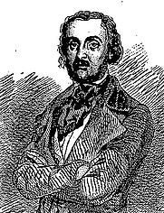 """Author photo. """"Philarète Chasles"""" by Eugène de Mirecourt (1857)"""