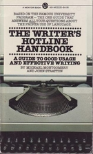 The Writer's Hotline Handbook by Michael…