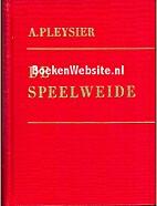 De speelweide by Arie Pleysier