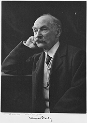 Author photo. Thomas Hardy portrait, ca. 1910 (Beinecke Rare Book and Manuscript Library, Yale University)