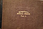 The social choir. Designed for a class book,…