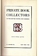 Private book collectors in the United States…