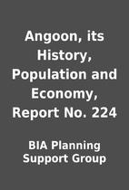 Angoon, its History, Population and Economy,…