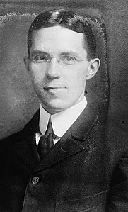 Author photo. George Grantham Bain Collection,<br> LoC Prints and Photographs Division <br>(LC-DIG-ggbain-20108)