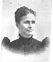 Author photo. Leora Bettison Robinson (b.1840), Buffalo Electrotype and Engraving Co., Buffalo, N.Y.