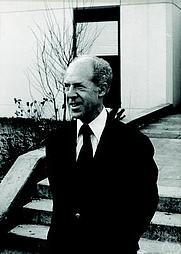 Author photo. Gérard Debreu. Photo by Konrad Jacobs.