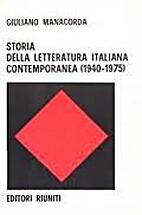 Storia della letteratura italiana…
