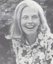 Author photo. Mary Gostelow circa 1975