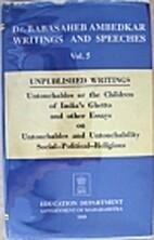 Dr. Babasaheb Ambedkar Writings and…