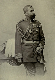 Author photo. Image from <i><a href=&quot;http://www.archive.org/details/cavalryinwarpeac00bernrich&quot;>Cavalry in War and Peace</a></i> (1910) at the <a href=&quot;http://www.archive.org&quot;>Internet Archive</a>
