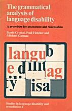 Grammatical Analysis of Language Disability…