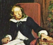 "Author photo. Detail from ""Milton Dictates Paradise Lost to his Daughters"" by Eugène Ferdinand Victor Delacroix, c.1826."
